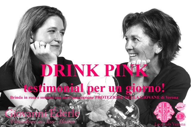 DRINK PINK! – Testimonial per un giorno