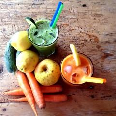 Centrifugati di frutta e verdura bio. Ecco i nostri due preferiti!